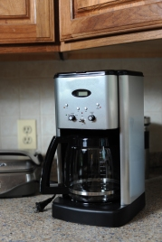 Fire Unplugged Coffee Pot