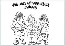Fire Safety Coloring Book!